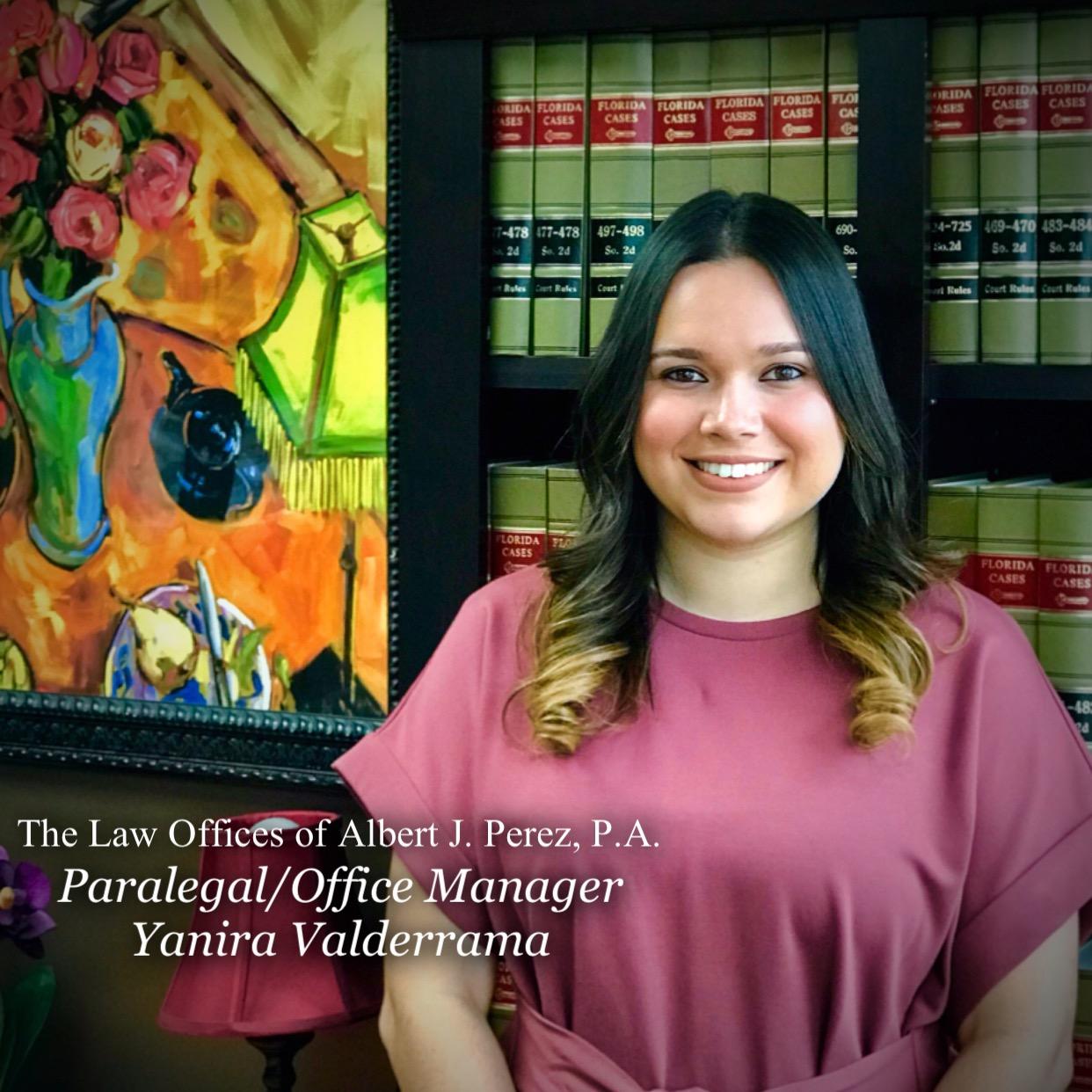 Yanira Valderrama Ajp Law